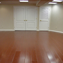 waterproof wood laminate basement flooring