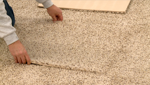 Easy installation & replacement with Pro Comfort Basement Carpet