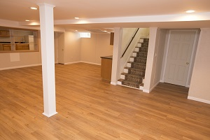 Total Basement Finishing system installed in Yonkers