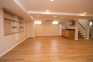 Basement finishing flooring in Yonkers & nearby